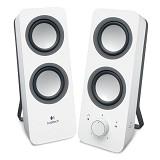 LOGITECH Z200 Multimedia Speakers [980-000849] - White - Speaker Computer Basic 2.0